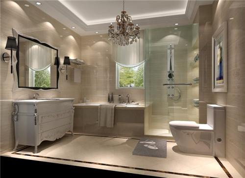 卫生间图片来自高度国际装饰王伟在华侨城 欧式风格鉴赏的分享