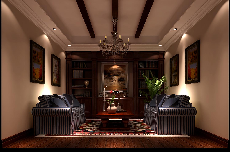 简约 别墅 白领 80后 托斯卡纳 高度国际 时尚 白富美 秦大涛 书房图片来自北京高度国际装饰设计在孔雀城托斯卡纳别墅的分享