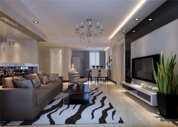 客户为80后小夫妻,户型以现代简约风格为主题。结合客户自身的需求与习惯,对原有的房屋结构进行了改造。