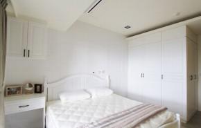 北欧 三居 舒适 卧室图片来自业之峰装饰旗舰店在舒适自在的132平北欧梦三居室的分享