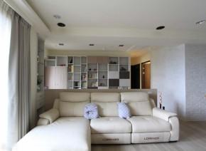 北欧 三居 舒适 客厅图片来自业之峰装饰旗舰店在舒适自在的132平北欧梦三居室的分享
