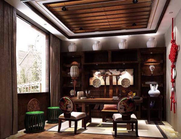 中国红,最开始是因中国红瓷而得名,之后经过时代的演变和设计师的不断创新,将其运用在室内的家具、木装饰以及手工艺品、布艺织品等处。