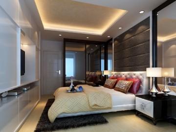 80平两居室后现代简约装修