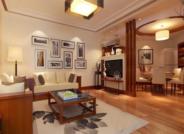 客厅 创意过道背景  面对客厅过道的墙面,放置一个鱼缸既调节了空气湿度。又给安静的家具环境带来了生机。鱼缸两边 摆设品让鱼缸与整体风格有了完美的结合。