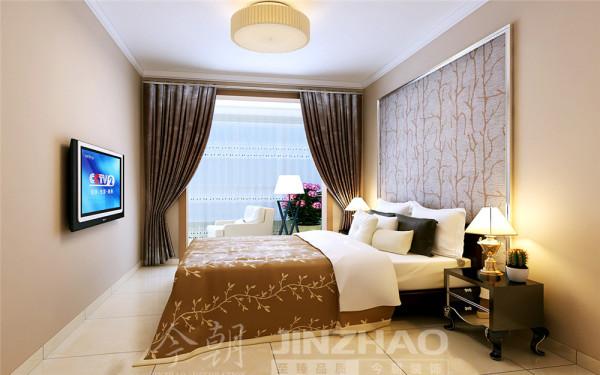 采用黑白灰简单色块的家具与简欧玻璃台灯相得益彰。