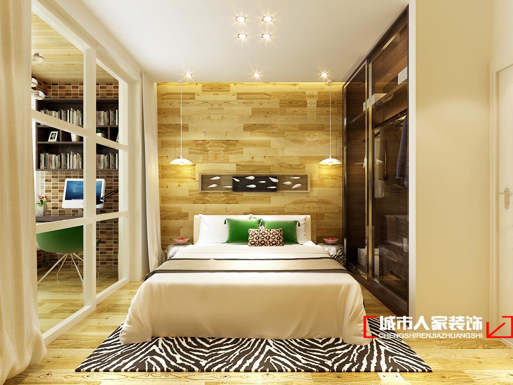 混搭 别墅 小资 白领 简约 卧室图片来自石家庄装修装饰设计公司在奥克兰 280平 现代简约的分享