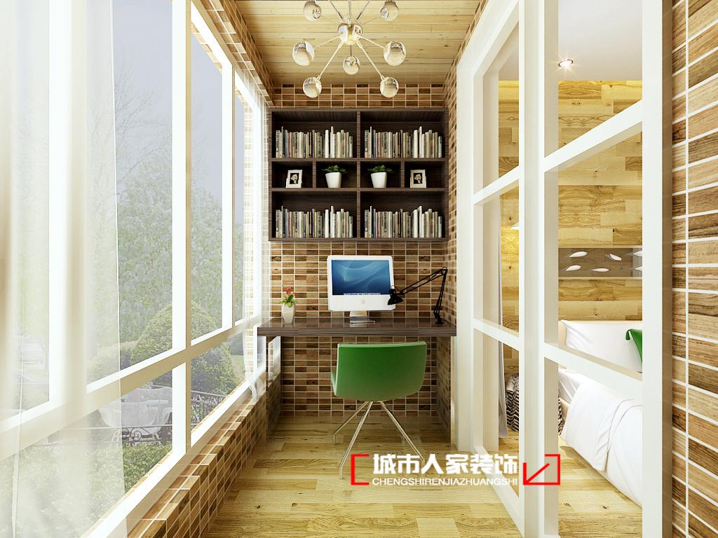 混搭 别墅 小资 白领 简约 阳台图片来自石家庄装修装饰设计公司在奥克兰 280平 现代简约的分享