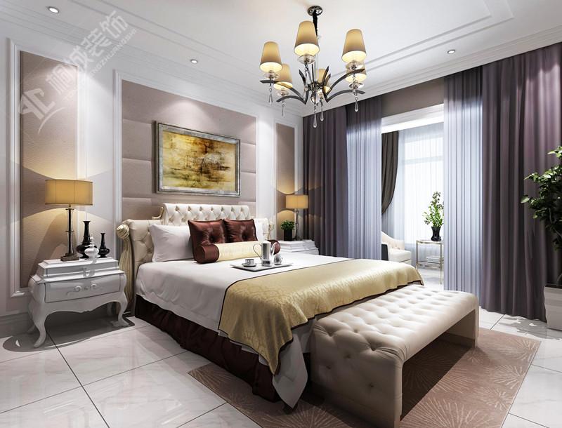 简约欧式 白领 卧室图片来自桐城装饰城城在高速紫禁长安——效果图的分享