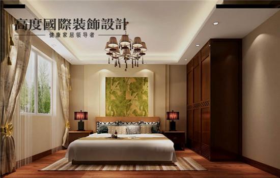 东南亚 装修 设计 四居 卧室图片来自高度老杨在潮白河孔雀城 四居 东南亚风格的分享