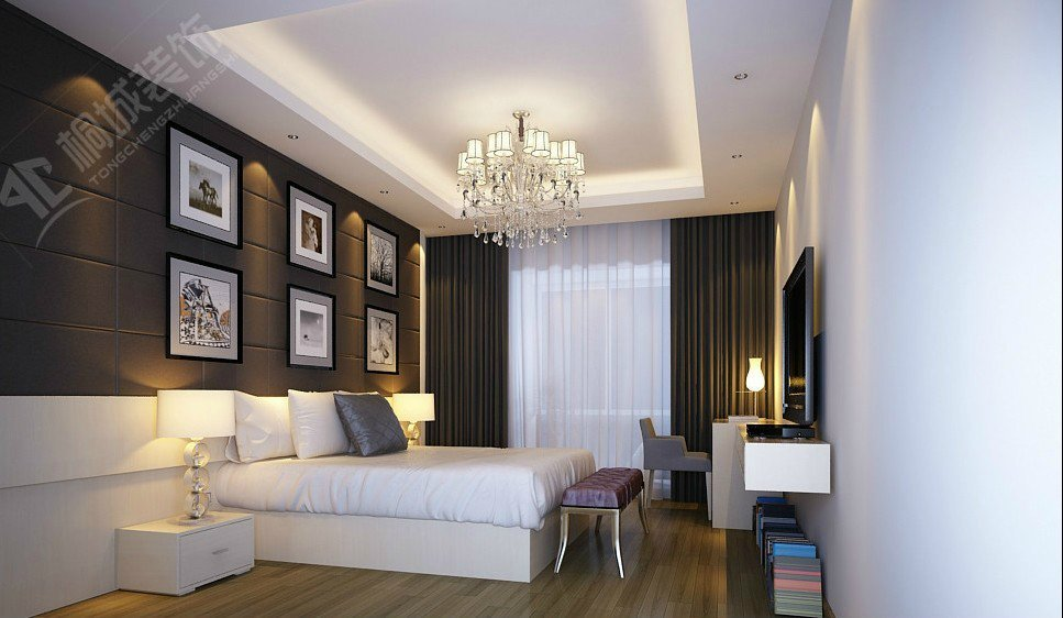 混搭 简约 日式 卧室图片来自桐城装饰城城在健康花城的分享