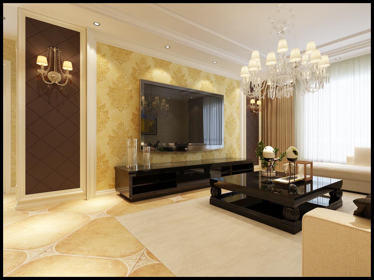 欧式 三居 龙湖紫都城 客厅图片来自百家设计小刘在龙湖紫都城115平欧式半包4万的分享