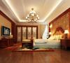 大厅、卧室等注重空间大气之感的营造,既满足空间本身的陈设需求,空间的大气之感也令人折服。天花板和墙壁选在了浅色调,干净整洁也更有利于烘托深色的家具。吊顶的棱角简洁大方,不同于欧式宫廷般的复杂繁复。