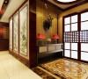 天山熙湖138平米新中式风格装修效果图