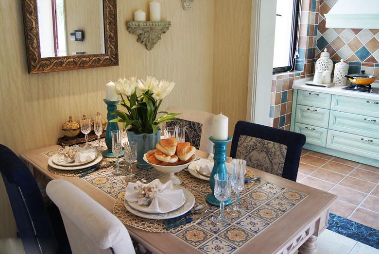 混搭 二居 白领 80后 慕尚家居 装修设计 餐厅图片来自慕尚族在海伦春天87平混搭风格案例的分享