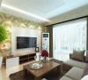 这次的设计风格定义为现代简约风格。本案要求整体运用浅木色家具,清新雅致,在整体空间,我选用了偏暖色带暗纹的壁纸,烘托了整体气氛,并显得比较大气稳重。