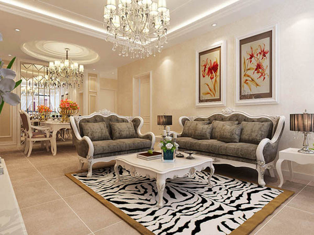 三居 简欧 客厅图片来自业之峰装饰赵先生在童年河的分享