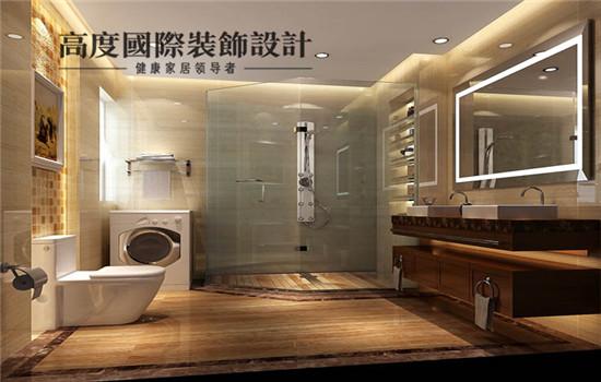 简欧 装修 设计 卫生间图片来自高度老杨在金色漫香苑 180平 简欧的分享
