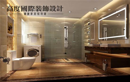 简欧 装修 设计 卫生间图片来自高度老杨在金色漫香苑 四室两厅 简欧的分享