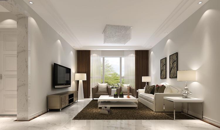 简约 欧式 田园 混搭 二居 三居 白领 小资 旧房改造 客厅图片来自高度国际装饰王伟在【西山壹号院】-----简约的分享