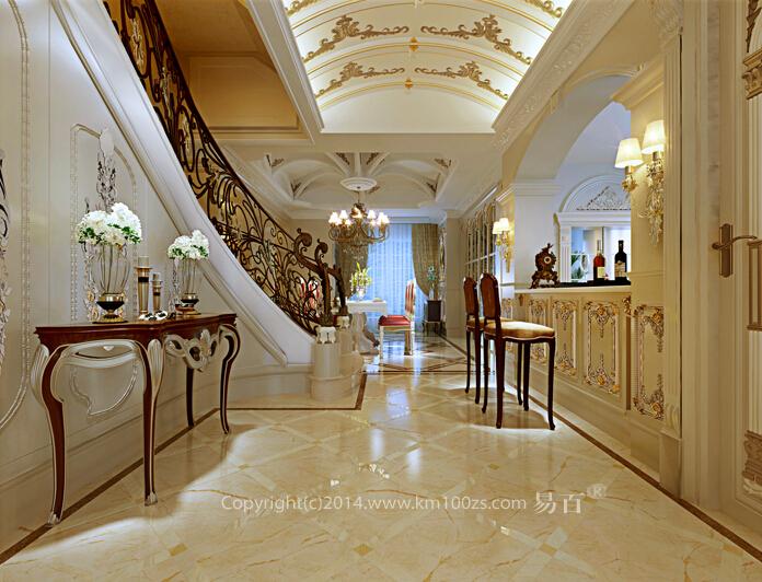 厨房图片来自昆明易百装饰-km100zs在【巴洛克风格】云南艺术家园区的分享