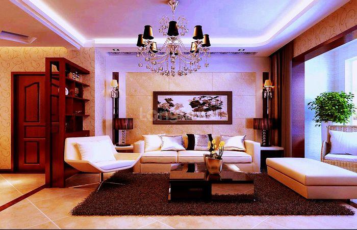 四居 现代风格 龙发装饰 湖城大境 装修设计 客厅图片来自龙发装饰集团西安分公司在金地湖城大境最大的体现空间的分享