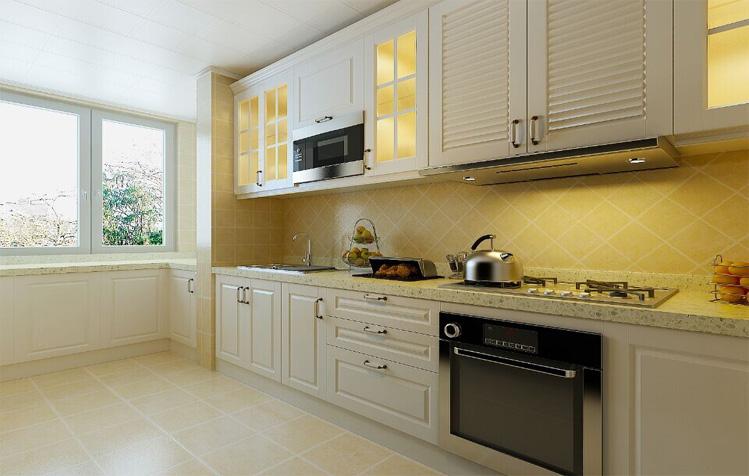欧式 三居 白领 简约 厨房图片来自天津实创装饰集团l在打败时间的欧式浪漫的分享
