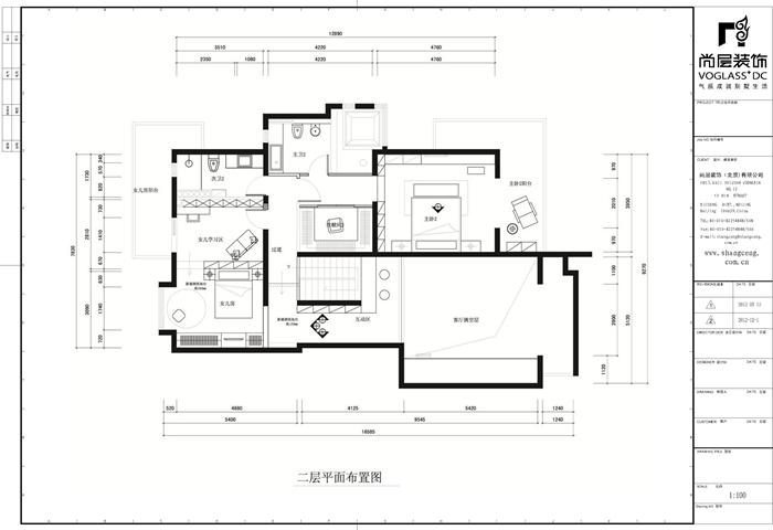 简约 别墅 衣帽间图片来自天津尚层装修韩政在海逸王墅现代风格的分享