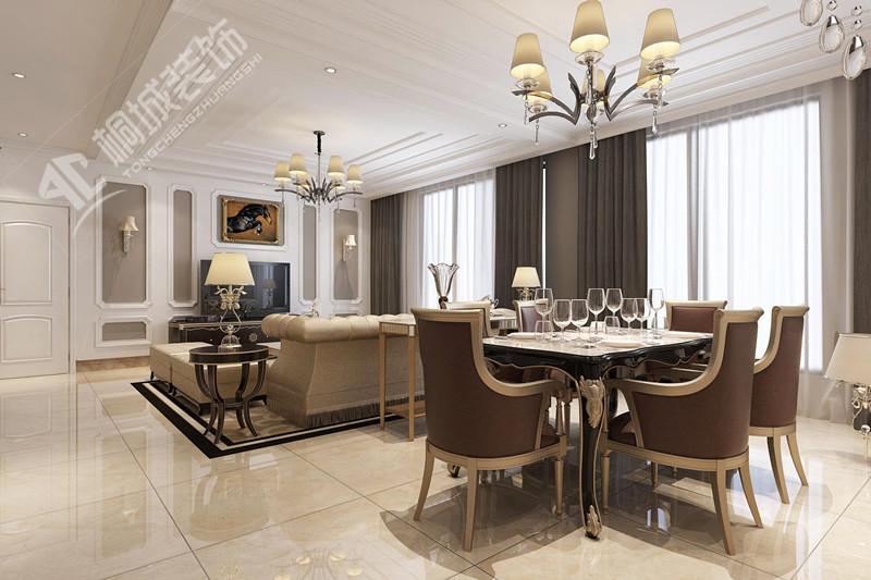 简约欧式 白领 客厅图片来自桐城装饰城城在高速紫禁长安——效果图的分享