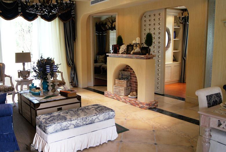 混搭 二居 白领 80后 慕尚家居 装修设计 客厅图片来自慕尚族在海伦春天87平混搭风格案例的分享