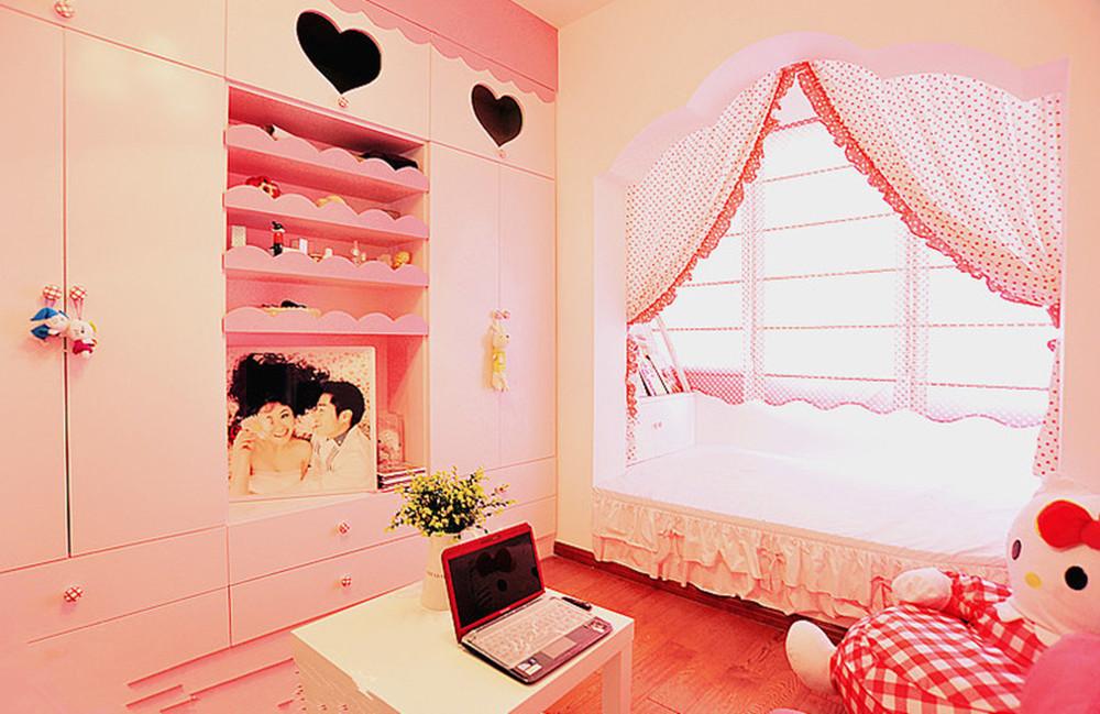 卧室图片来自今朝装饰小闫在水晶城堡的分享