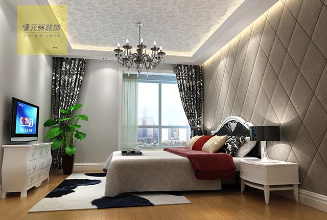 简约 欧式 田园 混搭 二居 三居 别墅 卧室图片来自元洲装饰木子在上林世家的分享