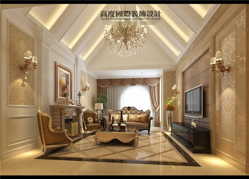 简约 欧式 混搭 四居客厅 卧室 卫生间 餐厅 高度国际 卧室图片来自高度国际装饰王伟在【顶秀美泉小镇】---简欧风格的分享