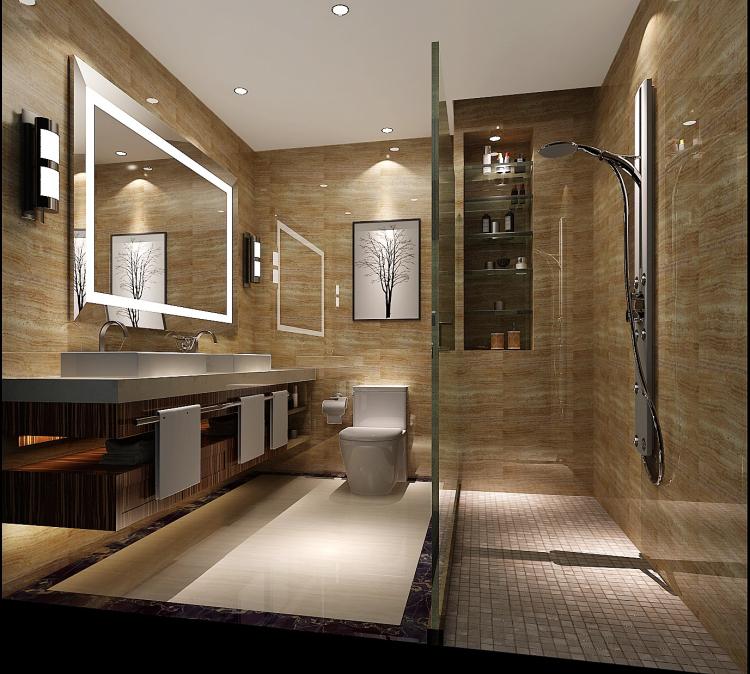 简约 欧式 田园 混搭 二居 三居 白领 小资 旧房改造 卫生间图片来自高度国际装饰王伟在【西山壹号院】-----简约的分享
