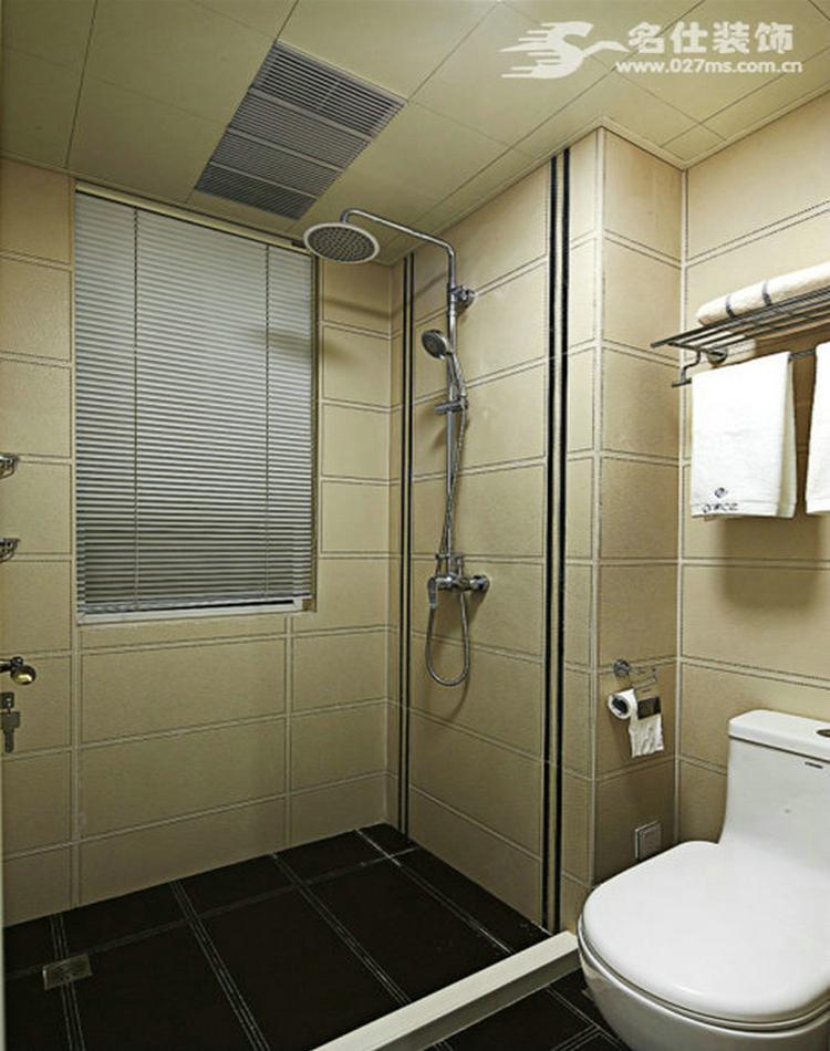 混搭 三居 白领 收纳 旧房改造 80后 小资 卫生间图片来自名仕装饰-小飞在华星融城混搭风格名师设计的分享