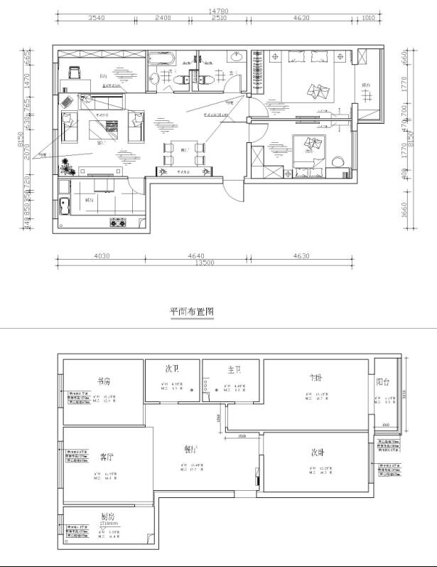 中式 三居 白领 旧房改造 今朝装饰 户型图图片来自北京老房装修-今朝装饰王丽在古色古香的中式设计的分享