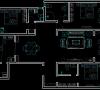 本案为三室两厅户型,属于大面积户型,适宜四口之家居住,每个卧室都配有卫生间,方便了家庭各个成员的洗漱与起夜,房子的布局很好,坐北朝南采光充足。唯一不足的是厨房紧挨卧室,油烟会影响到主人休息。