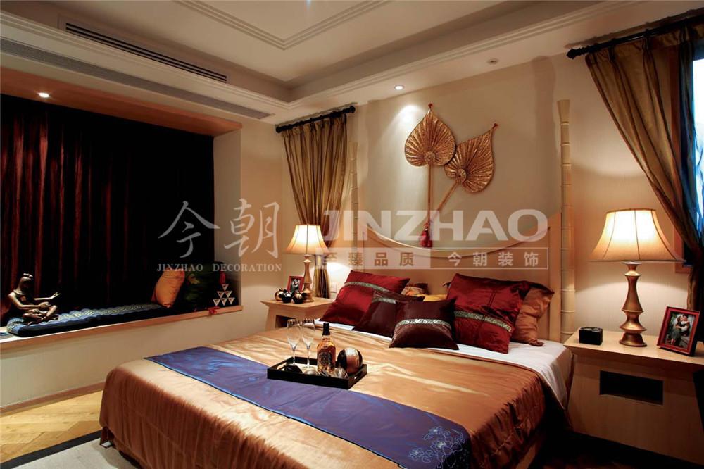 新房装修 老房装修 东南亚风格 软装配饰 热带风情 卧室图片来自今朝英瑞在奥北公元-176平-东南亚风格的分享