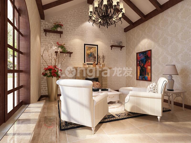 简约 欧式 混搭 三居 别墅 白领 收纳 80后 小资 书房图片来自西安龙发装饰在曲江公馆和园-欧式风格的分享
