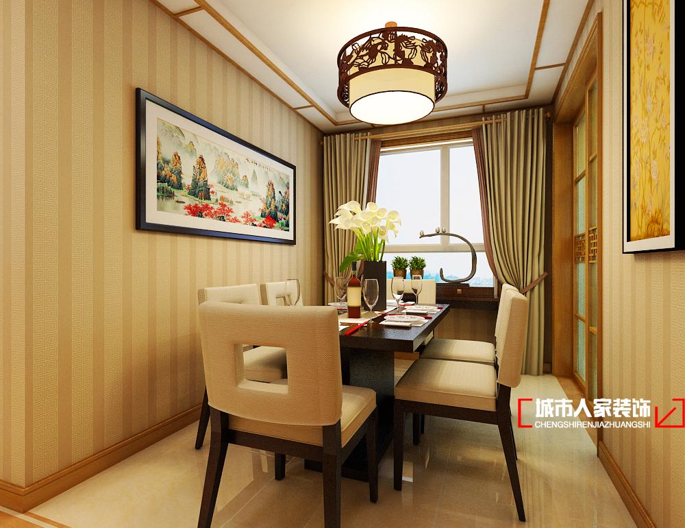 新古典 三居 温馨 80后 餐厅图片来自石家庄装修装饰设计公司在万达125平三室 新中式的分享