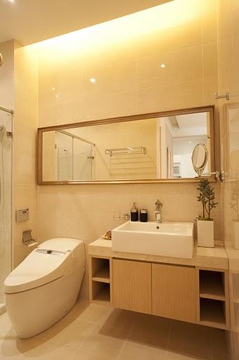 百家装饰 龙湖紫都城 环保装修 卫生间效果 卫生间图片来自张竟月在龙湖紫都城88平现代风格的分享