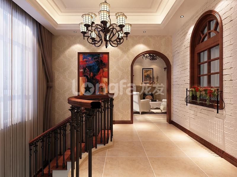 简约 欧式 混搭 三居 别墅 白领 收纳 80后 小资 楼梯图片来自西安龙发装饰在曲江公馆和园-欧式风格的分享
