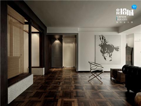 """中式 三居 白领 70 客厅图片来自湖南美迪装饰在一见""""中""""情的分享"""