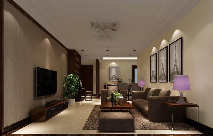 简约 客厅图片来自高度国际宋书培在北京城建·琨廷三居室装饰效果图的分享