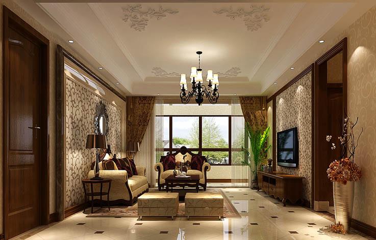 欧式 客厅图片来自高度国际宋书培在东亚·朗悦居三居室装饰效果图的分享