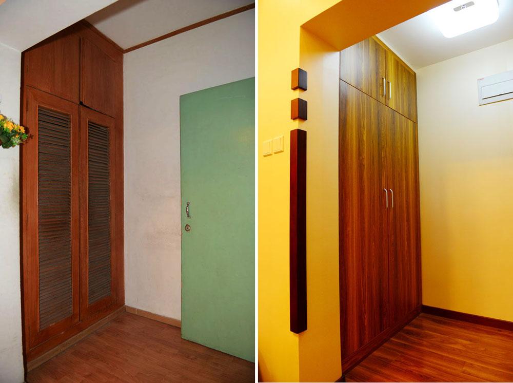 简约 二居 旧房改造 收纳 80后 今朝装饰 其他图片来自北京老房装修-今朝装饰王丽在老房翻新前后对比的分享