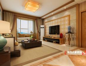 新古典 三居 温馨 80后 客厅图片来自石家庄装修装饰设计公司在万达125平三室 新中式的分享