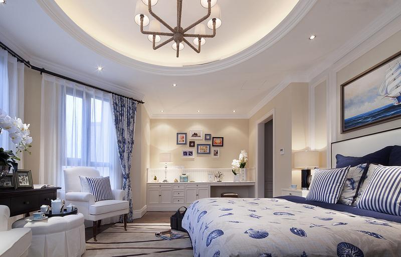 简约 欧式 田园 混搭 三居 客厅 卧室 80后 小资图片来自郑州盛润锦绣城样板间在天骄华庭的分享
