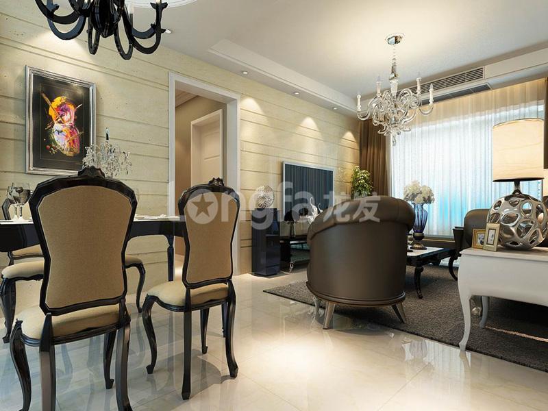 简约 欧式 混搭 三居 别墅 白领 收纳 80后 小资 餐厅图片来自西安龙发装饰在曲江观山悦混搭风格的分享