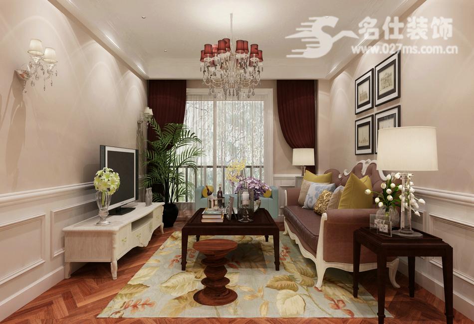 混搭 三居 白领 收纳 旧房改造 80后 小资 客厅图片来自名仕装饰-小飞在华星融城混搭风格名师设计的分享