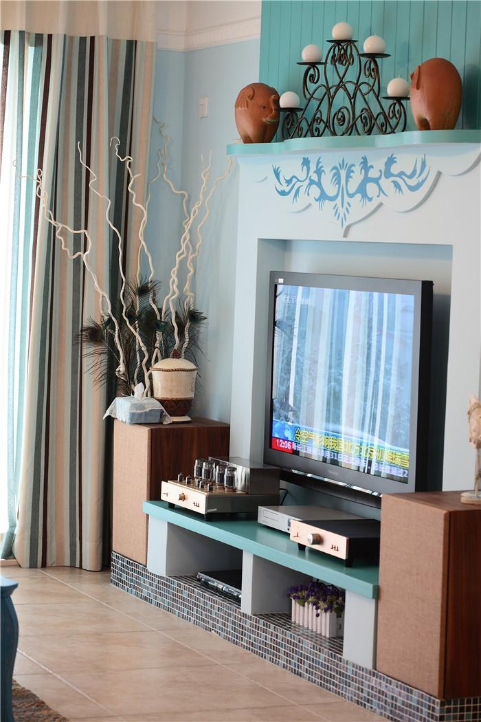 客厅图片来自高度国际装饰王伟在【浪漫的地中海】---新岸线的分享
